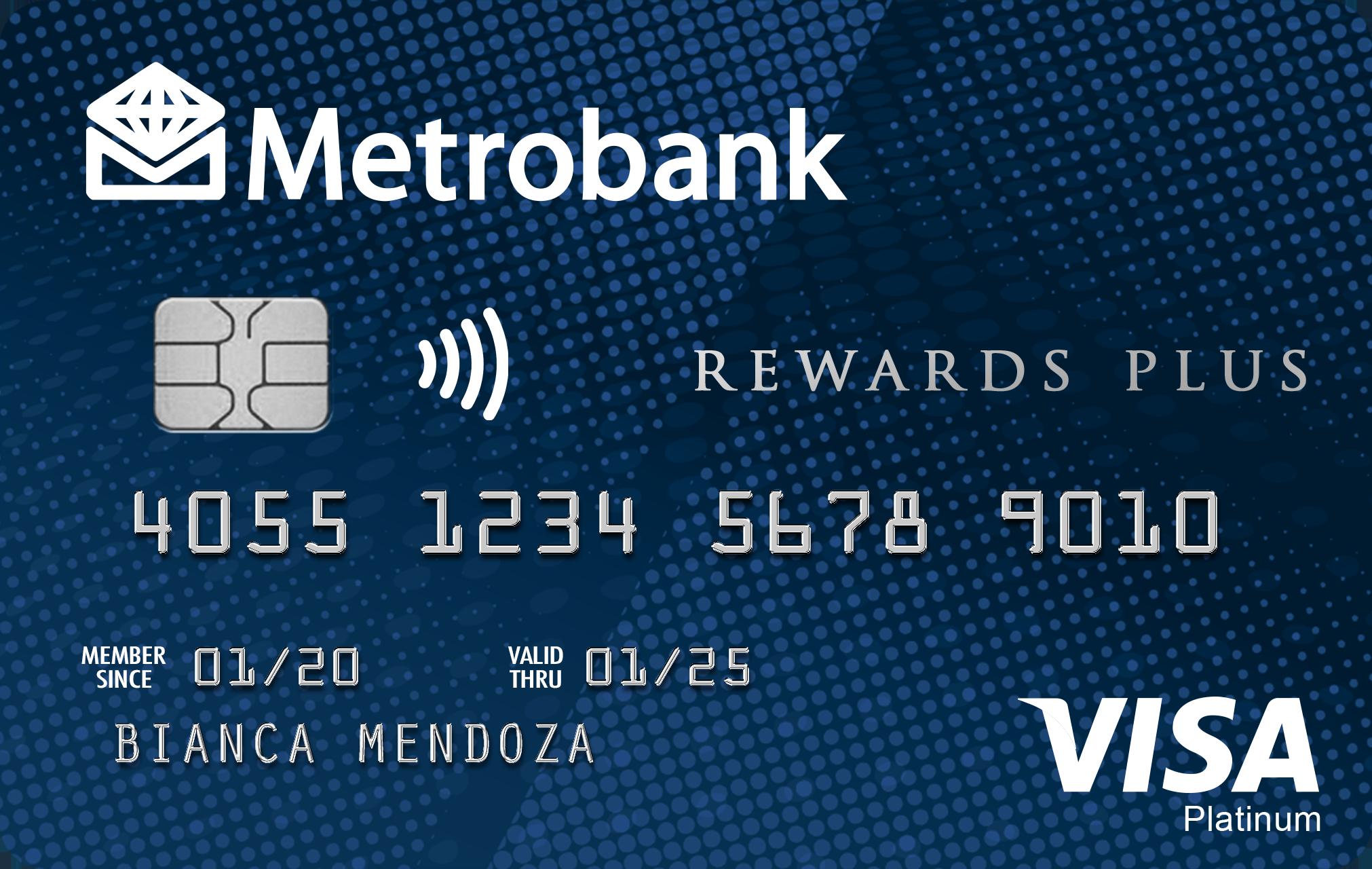Metrobank - Metrobank Rewards Plus Visa
