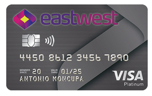 EastWest Visa Platinum Credit Card