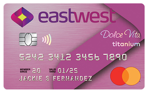 EastWest Dolce Vita Titanium Mastercard