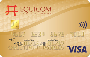 Equicom Gold Credit Card