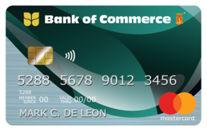 Bank of Commerce - Bank of Commerce Mastercard Classic