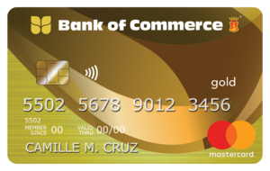 Bank of Commerce - Bank of Commerce Mastercard Gold
