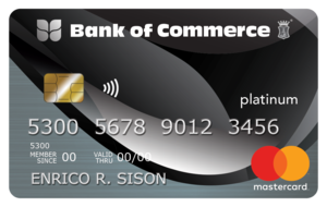 Bank of Commerce Mastercard Platinum