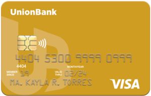UnionBank Gold Visa Card