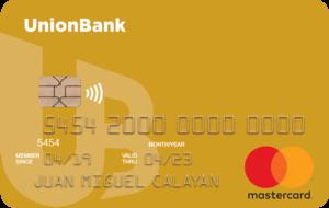UnionBank - UnionBank Gold Mastercard