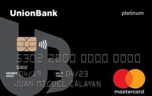 UnionBank - UnionBank Platinum Mastercard