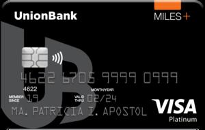 UnionBank - UnionBank Miles+ Platinum Visa Card