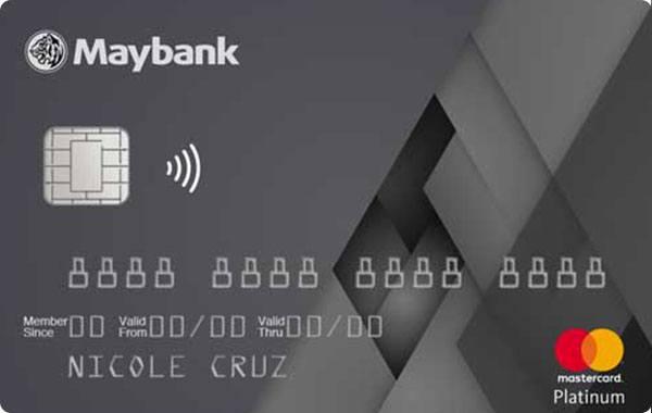 Maybank - Maybank Mastercard Platinum