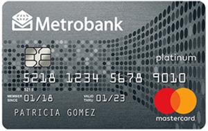 Metrobank - Metrobank Peso Platinum Mastercard