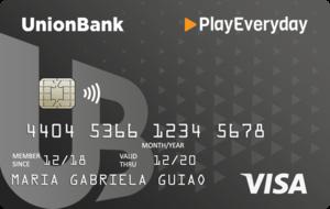 UnionBank PlayEveryday Visa Card