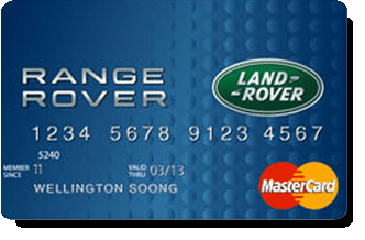 PNB Land Rover Platinum Mastercard