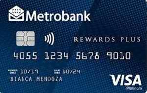 Metrobank Rewards Plus Visa