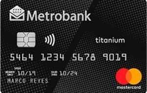 Metrobank - Metrobank Titanium Mastercard