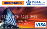 UnionBank Cebu Parklane International Hotel Visa Card