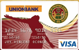 UnionBank University of the Philippines Alumni Association Visa Card