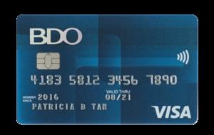 BDO Visa Classic