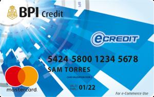 BPI eCredit