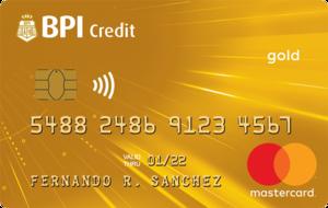 BPI Gold Mastercard
