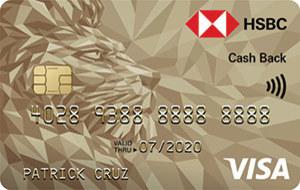 HSBC Gold Visa Cash Back Credit Card
