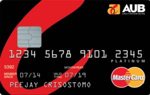 AUB - AUB Platinum Mastercard