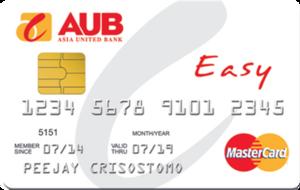 AUB Easy Mastercard