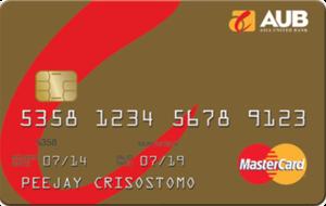 AUB - AUB Gold Mastercard
