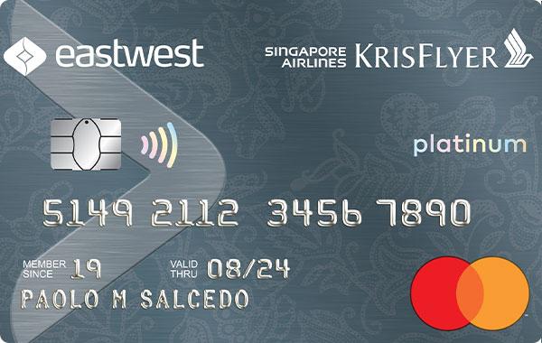 EastWest Bank - EastWest Singapore Airlines KrisFlyer Platinum Mastercard