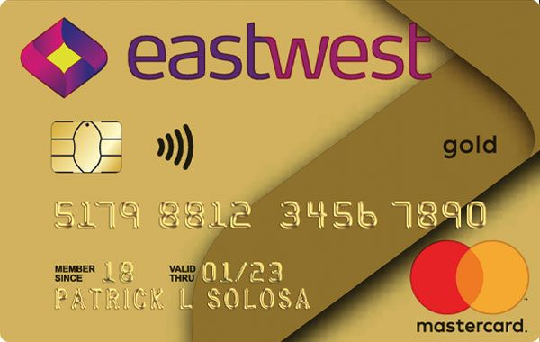 EastWest Bank - EastWest Bank Visa/Mastercard Gold