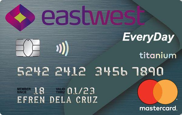 EastWest Bank - EastWest EveryDay Titanium Mastercard