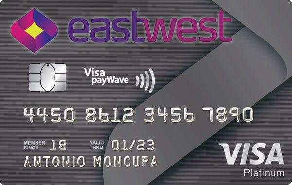 EastWest Bank - EastWest Visa Platinum Credit Card