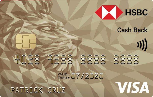 HSBC - HSBC Gold Visa Cash Back Credit Card