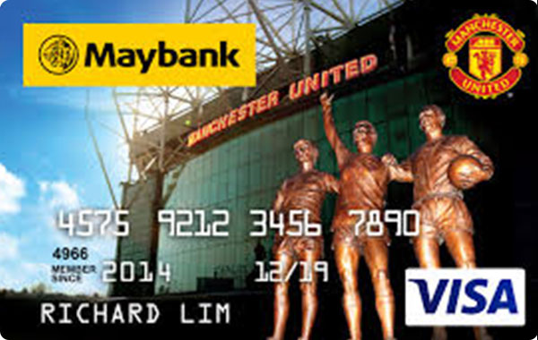 Maybank Manchester United Credit Card