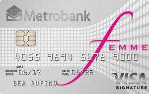 Metrobank Femme Signature