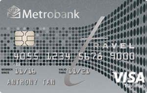 Metrobank - Metrobank Travel Platinum Visa