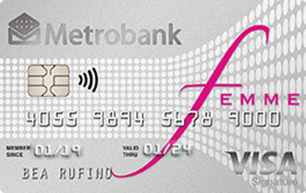 Metrobank - Metrobank Femme Signature