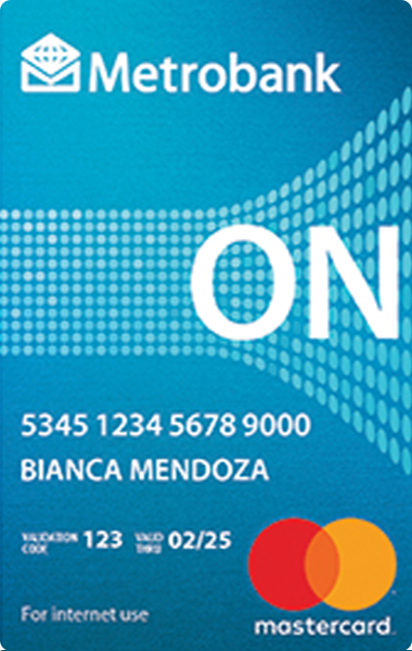 Metrobank ON Internet Mastercard