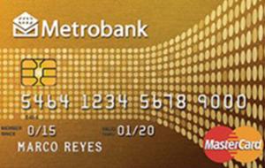 Metrobank Gold Card