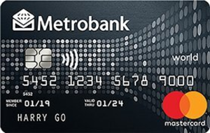 Metrobank - Metrobank World Mastercard