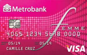 Metrobank Femme Visa