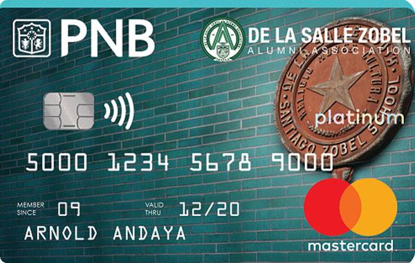 PNB De la Salle Zobel Alumni Association Mastercard