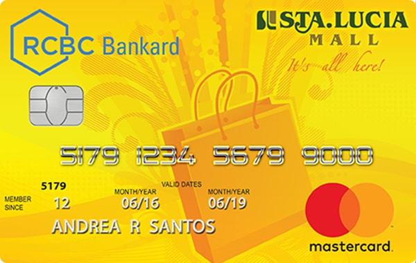 RCBC Bankard Sta. Lucia Mall Mastercard