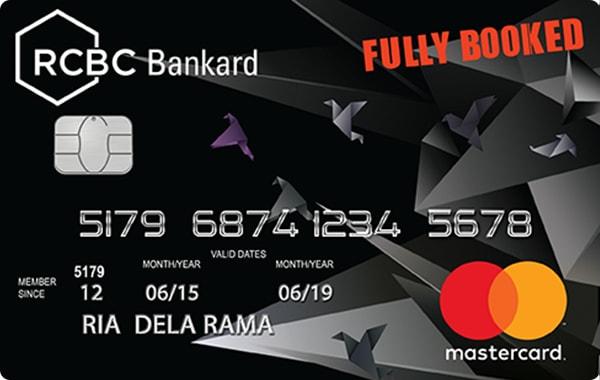RCBC Bankard Fully Booked Mastercard