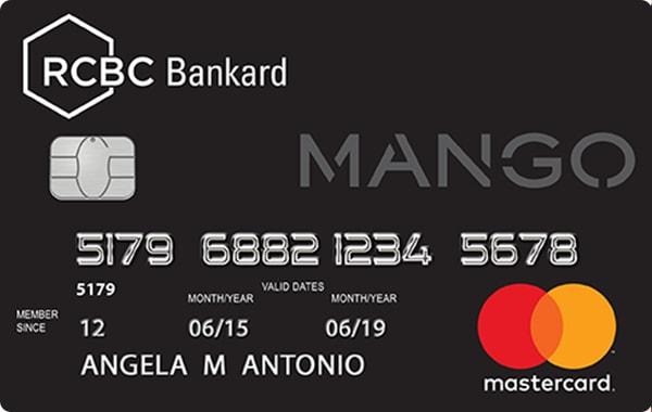 RCBC - RCBC Bankard Mango Mastercard