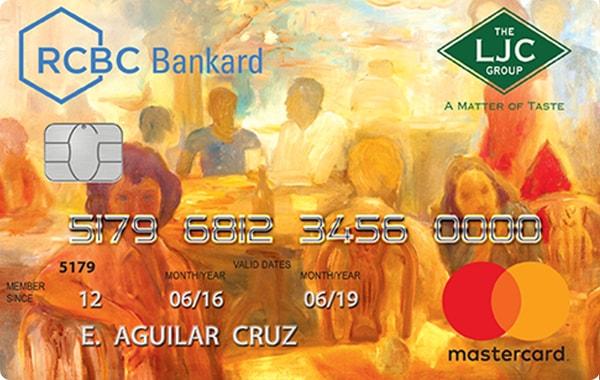 RCBC Bankard LJC Mastercard