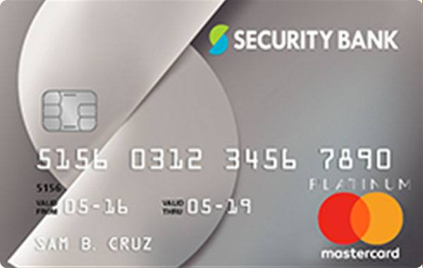 Security Bank Mastercard Platinum