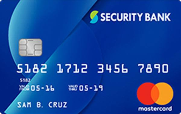 Security Bank - Security Bank Mastercard Classic