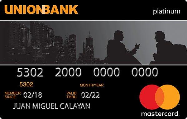 UnionBank Platinum Mastercard