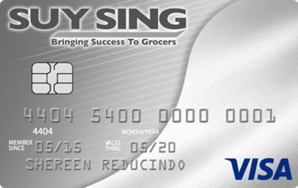 UnionBank Suy Sing Visa Card