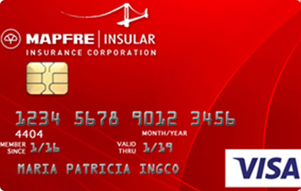 UnionBank Mapfre Insular Visa Card