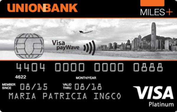 UnionBank Miles+ Platinum Visa Card